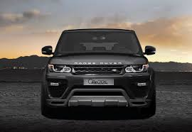land rover range rover sport matte black caractere exclusive tuning kits for range rover sport u0026 evoque