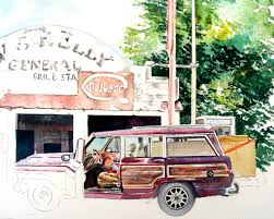 jeep artwork ghost signs recollections 54 the art of david tripp