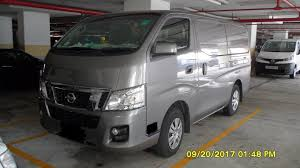 nissan van nv350 cargo vans edmund vehicle rental pte ltd