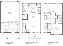 floor plan drafting lombard new home floor plan altius townhomes streetside
