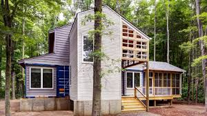 cargo container homes a canadian man built this offgrid shipping