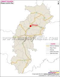 India State Map by Bilaspur Location Map Where Is Bilaspur