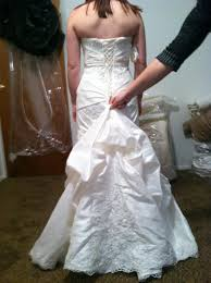 wedding dress bustle wedding gown alternations corset back and bustle