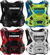 2018 thor guardian mx chest protector motocross guard road