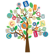 primary abc tree giant wall stickers stickers for wall com abc tree stickers