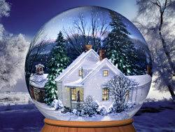 animated snow globes screensaver
