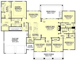 ranch house plans with 2 master suites 44 best dual master suites house plans images on