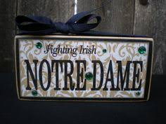 notre dame wrapping paper notre dame fighting logo gift wrap paper navy blue