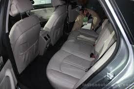 lexus rx 2016 interior back seat 2016 hyundai sonata plug in hybrid rear seat at the 2015 detroit