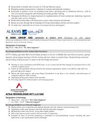 Sample Resume For Sales by Resume For Sales Manager Naeem Ahmad
