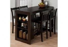 Kitchen Bar Table With Storage Pub Table And Chairs Foter