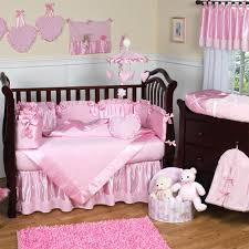 Bedding Sets For Mini Cribs by Nursery Beddings Pink And Brown Ladybug Crib Bedding As Well As