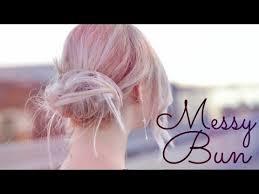 Frisuren Mittellange Haare Dutt by Frisur Unordentlicher Dutt Tutorial Schnell Und Einfach Für
