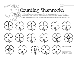 counting shamrocks squarehead teachers
