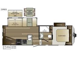 cougar floor plans cougar x lite 25res fifth wheel
