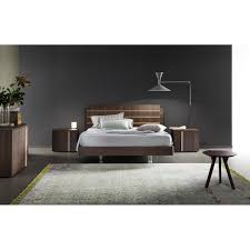 Rossetto Bedroom Furniture Rossetto 4401601375082 Tratto King Platform Bed Homeclick