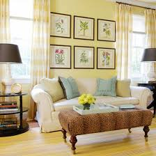 Curtains For Yellow Living Room Decor Wall Decor Decorating With Yellow Walls Living Room Yellow