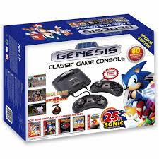 sega genesis classic game console 80 built in games with 2 wired