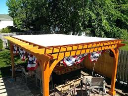 Pergola With Fabric by Outdoor Canopy Fabric U2013 Creativealternatives Co