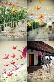 lanterne de sol en papier diy décorer votre salle avec des cocottes en papier grue