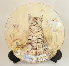 quality home decor royal worcester kitten classics decorative plate issue five