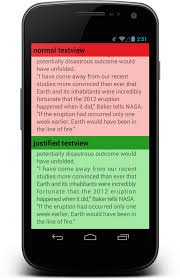 android textview layout gravity java android textview justify text stack overflow