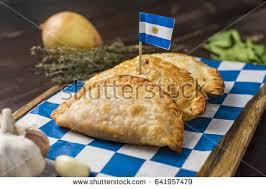 cuisine argentine empanadas traditional food empanadas ภาพสต อก 641957479