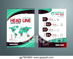 magazine layout size eps vector vector brochure flyer magazine cover booklet poster
