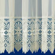 Cream Lace Net Curtains Melissa Cream Voile Curtain From Net Curtains Direct