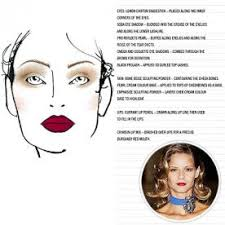 makeup from sketch to show instyle com