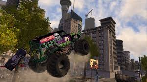 grave digger monster truck games monster jam battlegrounds game ps3 playstation