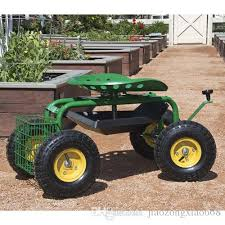 siege de jardinage acheter chariot de jardin siège de travail à roulement avec plateau