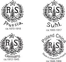 Chinese Markings On Vases Fakes Copies U0026 Reproductions Of R S Prussia Germany Suhl Poland