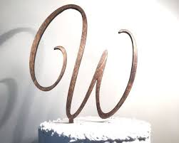 cake topper monogram best 25 monogram cake toppers ideas on glitz and glam