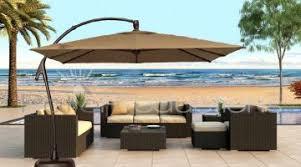Patio Umbrellas At Walmart Inspiring Cantilever Patio Umbrella Furniture White Ideas Patio
