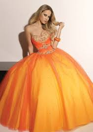 orange prom dresses women styler