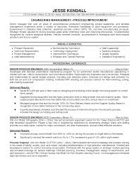 Book Report Commercial Process Engineer Sample Resume