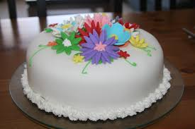fondant flower cakes fondant cake images