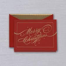 engraved ribbon engraved ribbon flourish merry christmas greeting card crane