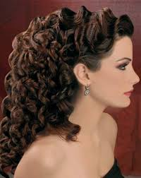 wedding hairdos for curly hair popular long hairstyle idea
