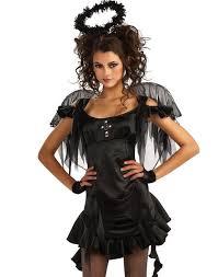 Devil Angel Halloween Costumes Teen Girls Cute Black Gothic Dark Fallen Angel Halloween Costume