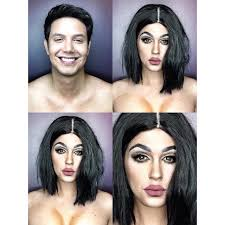 looking for a makeup artist makeup artist transforms himself into