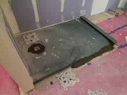tiling a shower pan amazing tile