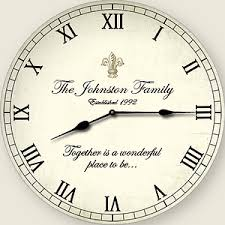personalized clocks with pictures clocks of design personalized clocks personalized wall clocks