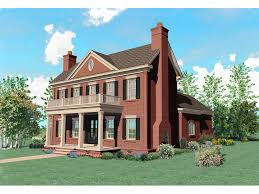 brick colonial house plans warson hill georgian brick home plan 087s 0185 house plans and more