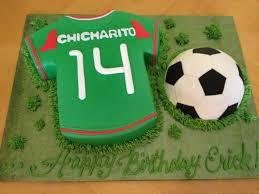 soccer cake ideas chicharito made custom cakes