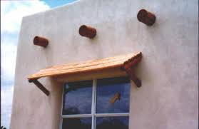 Outside Window Awnings Awnings Southwest Awnings Wood Pole Awnings Santa Fe Homes Patios
