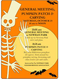 Halloween Party Invite Poem Newman Park Blog October 2010