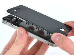 how to join broken glass iphone 4s display assembly replacement ifixit