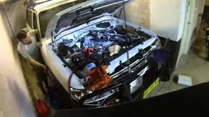 startup of nissan patrol zd30 after rebuild youtube